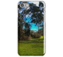 Panoramic greens and blues iPhone Case/Skin