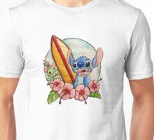 Surfing Stitch and Scrump  Unisex T-Shirt