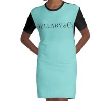 Hillary & Co. Graphic T-Shirt Dress