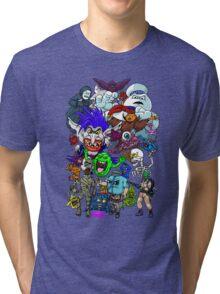 I Ain't Afraid Of No Ghost Tri-blend T-Shirt