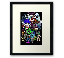 I Ain't Afraid Of No Ghost Framed Print