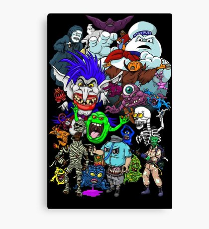 I Ain't Afraid Of No Ghost Canvas Print