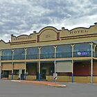 Carrollee Hotel, Kingaroy, Qld, Australia by Margaret  Hyde