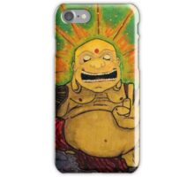 The Happy Buddha iPhone Case/Skin