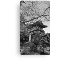 Pagoda, Japanese Tea Garden, San Francisco, CA Canvas Print