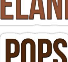 My Melanin Pops Severely. Sticker