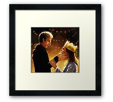 The Doctor and Clara  Framed Print