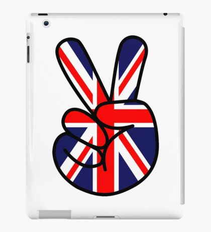 UK-V IS FOR VICTORY iPad Case/Skin