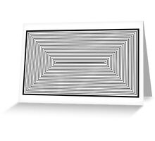 Rectangle III. Greeting Card