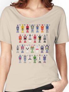 Transformers Alphabet Women's Relaxed Fit T-Shirt