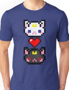 Sailor Moon cats Unisex T-Shirt