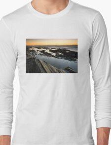 Sunrise on the Maine Coastline Long Sleeve T-Shirt