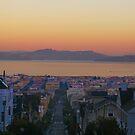 Dawn San Francisco Bay by David Denny