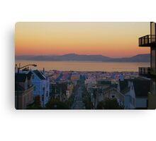Dawn San Francisco Bay Canvas Print