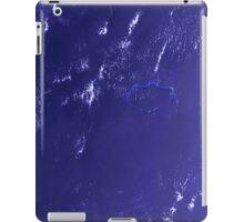 Marshall Islands Bikini Atoll Satellite Image iPad Case/Skin