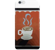 Come in for a sip iPhone Case/Skin