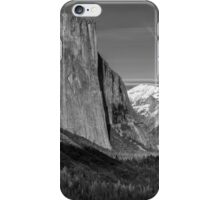 El Capitan with the Moon  iPhone Case/Skin