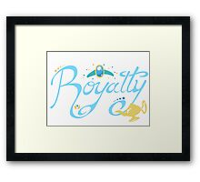 Royalty - Show you the world Framed Print