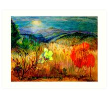 At the Edge of Dreaming Fields Art Print