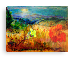 At the Edge of Dreaming Fields Metal Print