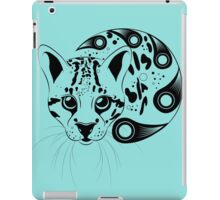 Ocelot Ink Art iPad Case/Skin