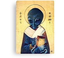 St. Alien Canvas Print