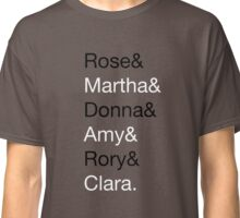 Doctor Who Companions Classic T-Shirt
