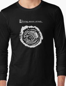 flying saucer attack t shirt Long Sleeve T-Shirt