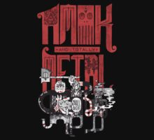 Amok and Totally Metal T-Shirt