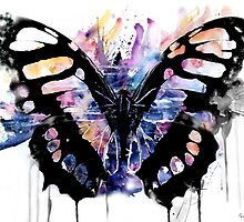 Butterflies will Erupt by Kendra Farber