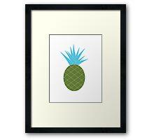 funky pineapple Framed Print