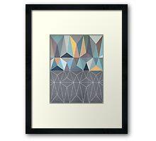 Nordic Combination 31 Framed Print