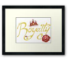 Royalty - Beauty Framed Print