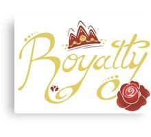 Royalty - Beauty Canvas Print