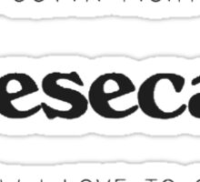 New Cheescake Sticker