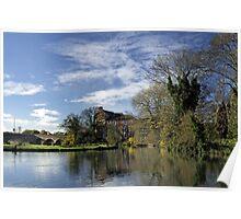 Beside The River, Burton on Trent Poster
