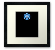 Mini Arc-Reactor Framed Print