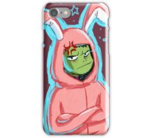 Beast Boy in a bunny suit (Starry) iPhone Case/Skin