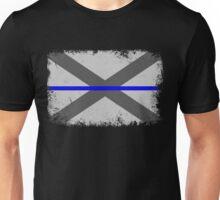 Blue Line Alabama State Flag Unisex T-Shirt