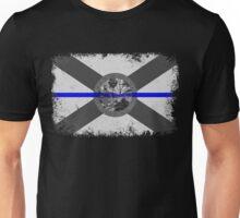 Blue Line Florida State Flag Unisex T-Shirt