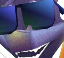 Spyro Shades Sticker