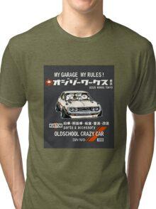 Crazy Car Art 0127 Tri-blend T-Shirt