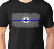 Blue Line Kentucky State Flag Unisex T-Shirt