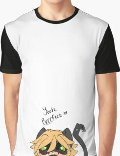 You're Purrfect Chat Noir Graphic T-Shirt