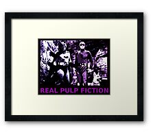 THE REAL PULP FICTION HEROES Framed Print