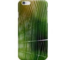 Web Of The Orb Weaver iPhone Case/Skin