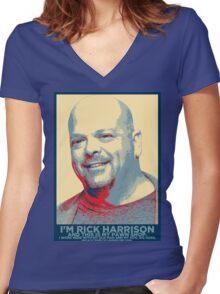 I'm Rick Harrison Women's Fitted V-Neck T-Shirt