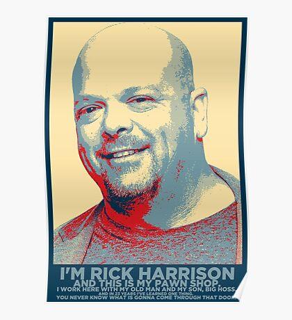 I'm Rick Harrison Poster