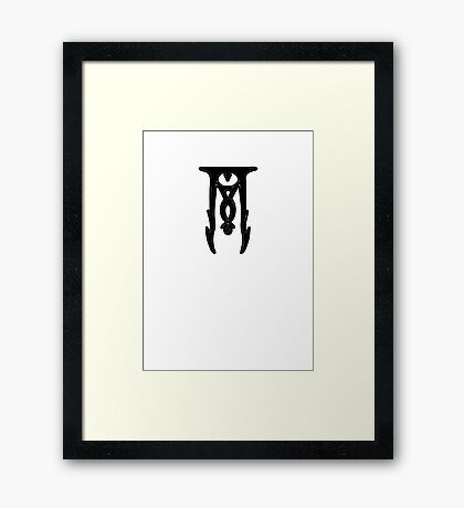 The Cult of Orcus (dungeons and dragons) Framed Print