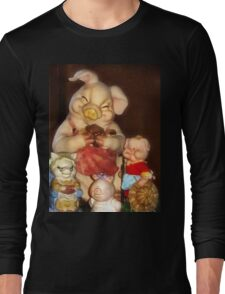 Piggie Portrait Long Sleeve T-Shirt